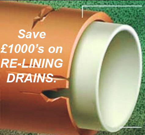 Save thousands of pounds on drain relining with drains first